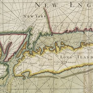 Part of New England, New York, east New Iarsey and Long Iland.