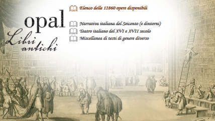 OPAL - Biblioteca della Biblioteca di Lettera e Filosofia, Università degli Studi di Torino