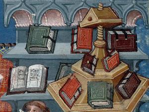 Paris, Bibl. Mazarine, ms. 313, f. 1 (détail) Bible historiale  Paris, premier quart du XVe siècle