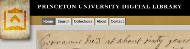 princeton university digital library