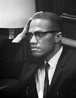 Malcolm X - http://it.wikipedia.org/wiki/File:Malcolm-x.jpg