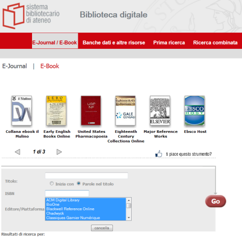 e-book unimi
