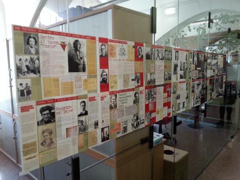Mostra ANED Oltre quel muro - La Resistenza nel campo di Bolzano 1944-45