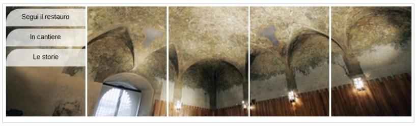 Sala delle asse: il restauro http://www.saladelleassecastello.it