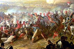 La battaglia di Waterloo. Da Wikipedia.org