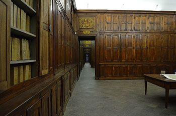 Saloni juvarriani della Sezione Corte dell'Archivio di Stato di Torino. Wikipedia.org