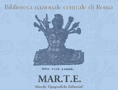 MAR.T.E. marche tipografiche editoriali http://193.206.215.10/marte/index.html