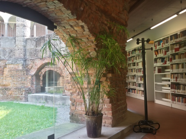 Sala lettura - Ottagono