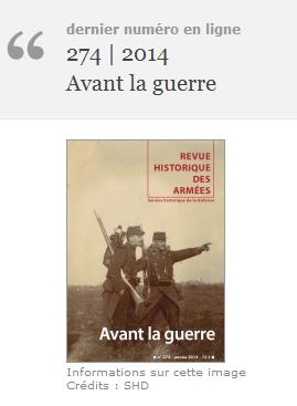 Revue historique des armées - http://rha.revues.org/
