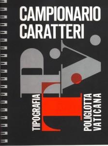 Campionario caratteri della Tipografia Poliglotta Vaticana, 1980