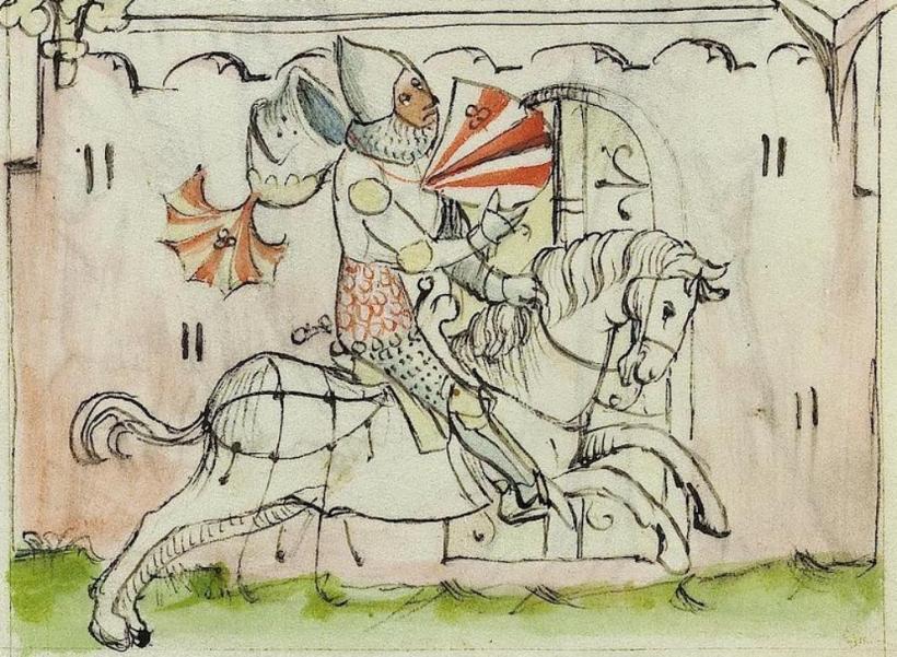 horse-riding