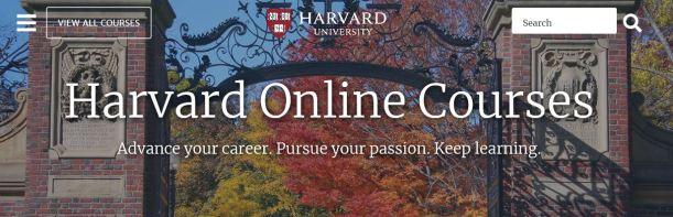 harvard online courses
